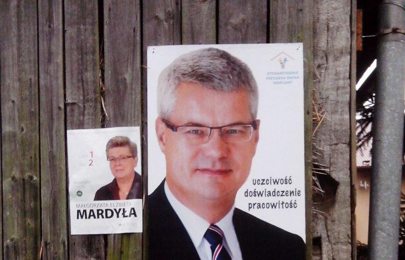 O byłej pani wójt Mogilan w Dzienniku Polskim