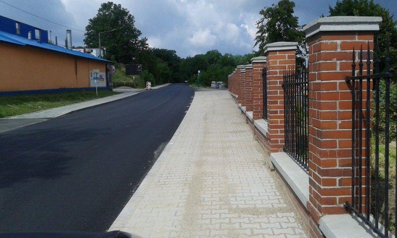 Nowe drogi w gminie Mogilany