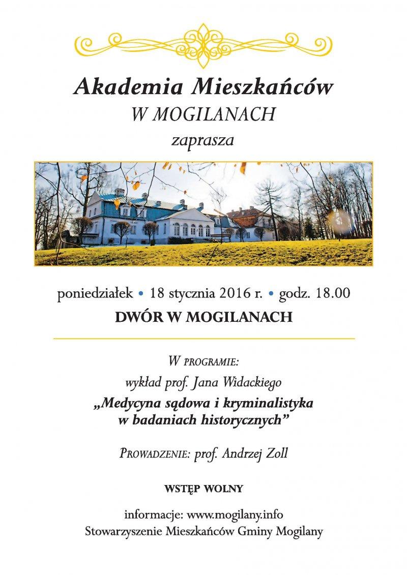 Akademia Mieszkańców i Chór Mogilanum!