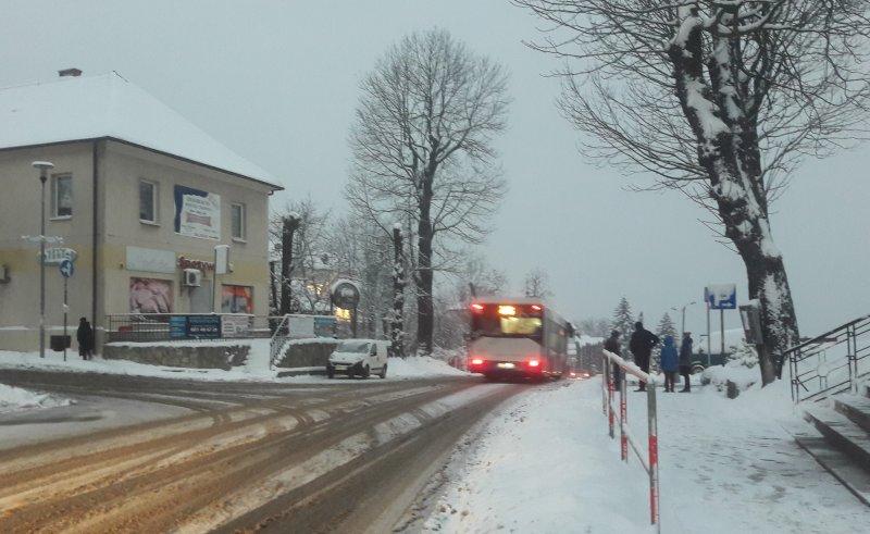 Inwestycje drogowe Powiatu w gminie Mogilany