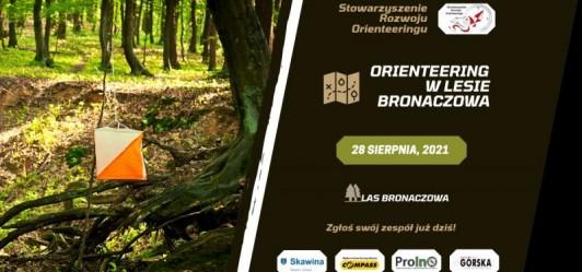 Orienteering w Lesie Bronaczowa