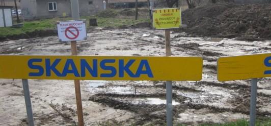 Połączyć chodnikiem kładkę w Gaju z ul. Widokową