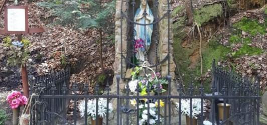Źródełko z figurą Matki Boskiej (Włosań)