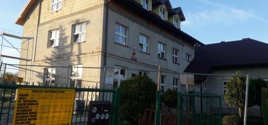 Rozbudowa szkoły w Lusinie