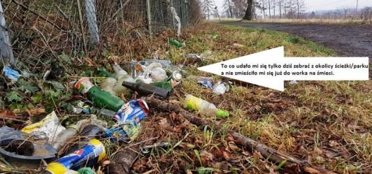 Kłopotliwy problem w Mogilanach - żyjemy wśród śmieci